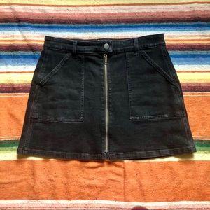 Madewell   Utility A Line Denim Skirt   28